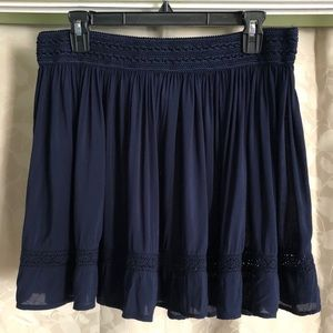 👓🌼📚ADORABLE AEROPOSTALE NAVY BLUE SKIRT📚👓🌼